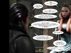 3d comic: